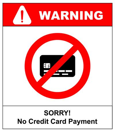 No gambling forex credit card