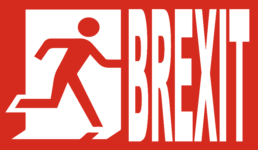 brexit escape sign