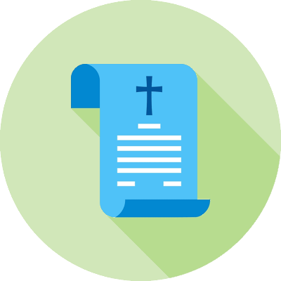 death certificate icon
