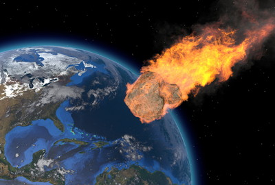 end of the world asteroid hitting earth