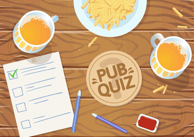 pub quiz graphic