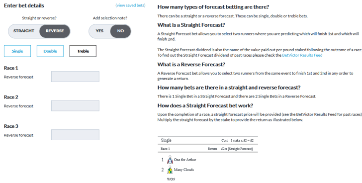 betting odds calculator reverse forecast betting
