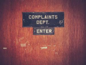 gambling complaint