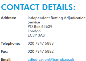 ibas contact details