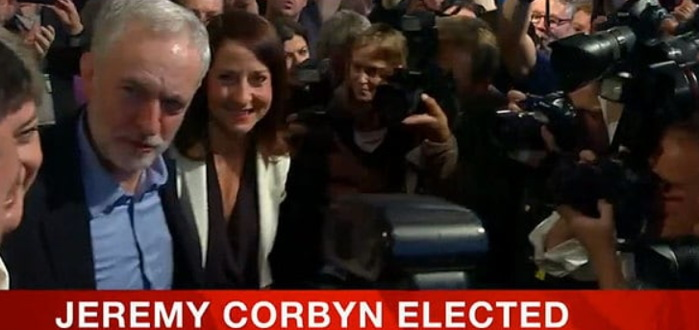 2015 - Jeremy Corbyn Elected Labour Leader