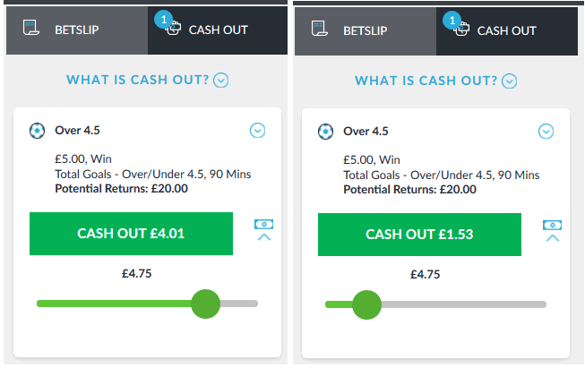 partial cash out example betvictor