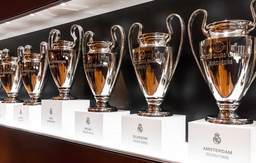 european cup trophy cabinet
