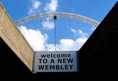new wembley sign
