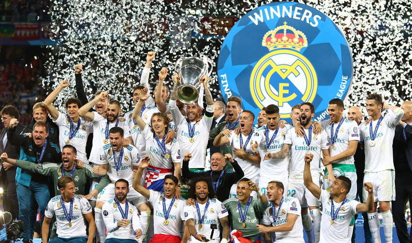 real madrid champions league record winners