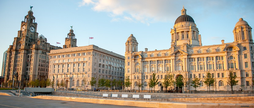 liverpool three graces at the pierhead