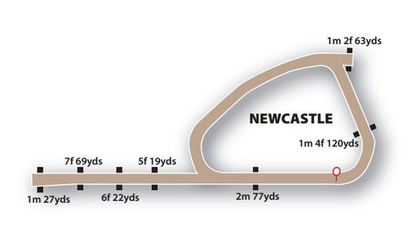 newcastle course layout