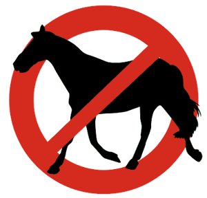 racing banned