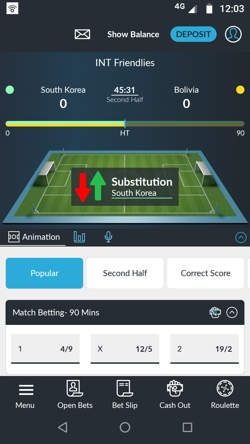 Betvictor mobile site