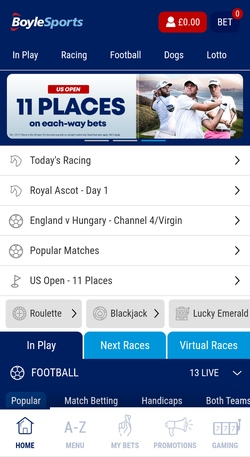 boylesports golf betting rules for roulette