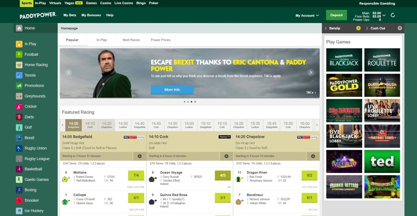 paddy power homepage 850px