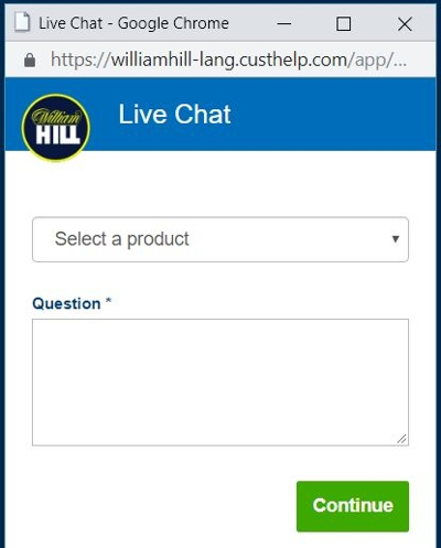 william hill support 400px