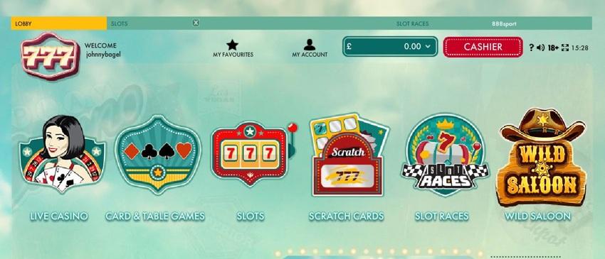 777 Casino Uk