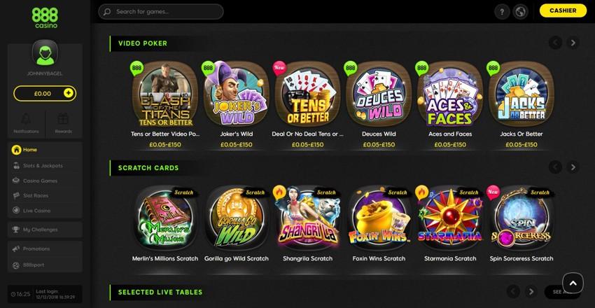 888 Casino Net