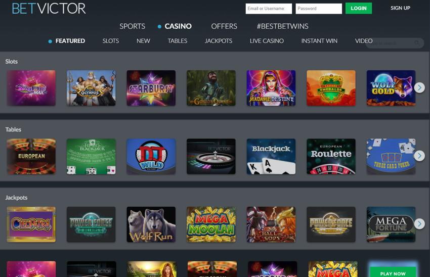 betvictor risk free casino