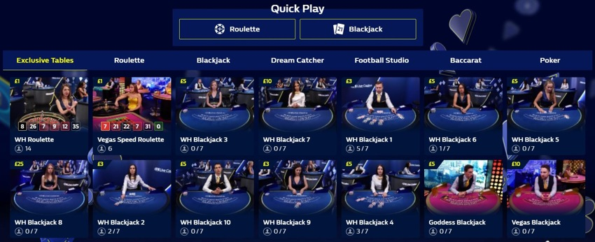 william hill live casino 850px