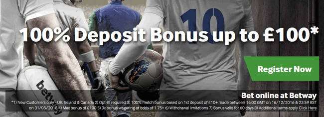 betway offer 100
