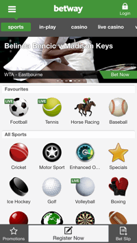 mobile Betway