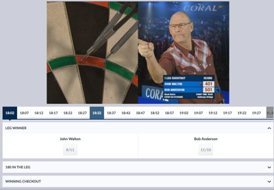 virtual darts game
