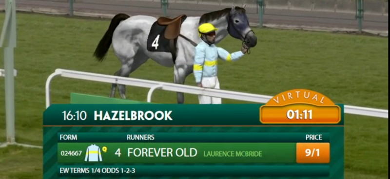 virtual racing paddy power