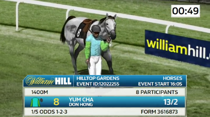 virtual racing william hill