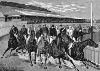 Melbourne Cup in 1883