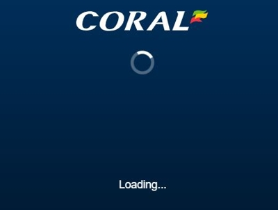 coral online loading 400px
