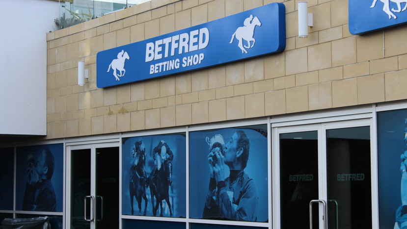 betting shop at cheltenham racecourse